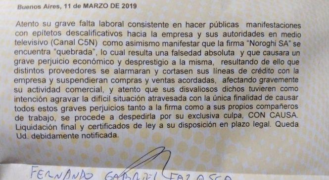 La fábrica que visitó Macri y cerró a los dos meses, despidió a sus empleados porque contaron la situación