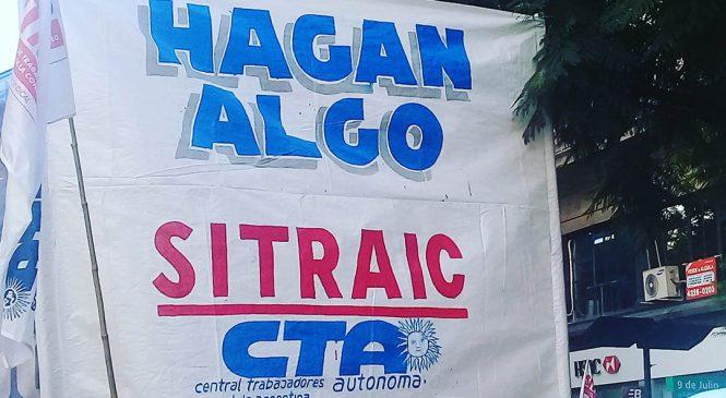 SITRAIC marchó por un plan de obras públicas e iniciativas para reactivar la construcción