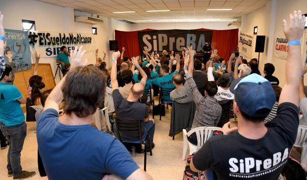 La Asamblea General del SiPreBA votó impulsar un plan de lucha para recuperar el poder adquisitivo de los salarios