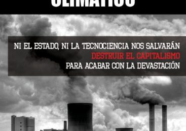 Bloque anarquista contra el cambio climático
