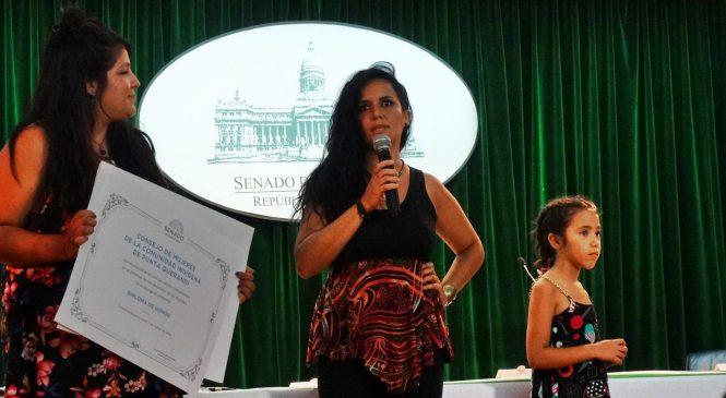 Reconocen al Consejo de Mujeres de Punta Querandí en el Senado de la Nación