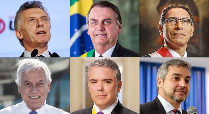 Se desinfla el proyecto de Prosur de Washington, Piñera y Duque