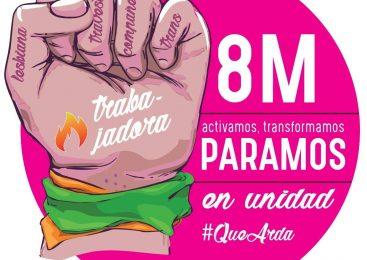 #8M activamos, transformamos #PARAMOS en unidad