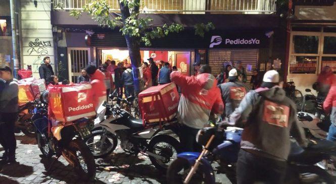 Trabajadores de plataformas: Continúa la lucha de rappitenderos, glovers y riders