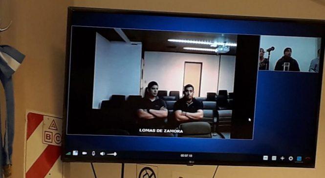 En silencio, los acusados por el ataque en el Belvedere escucharon la formulación de cargos