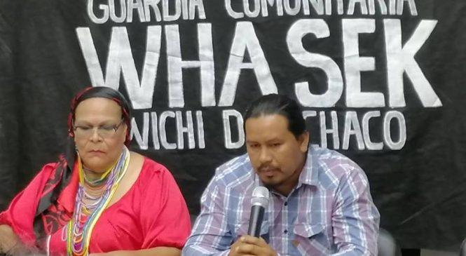 Comunicado de la Guardia Comunitaria Indígena Whasek