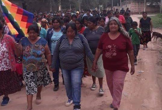 Chaco: Marcha del silencio en El Sauzalito