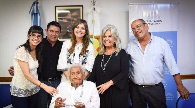 Emotivo homenaje a Rosa Grilo en el Congreso