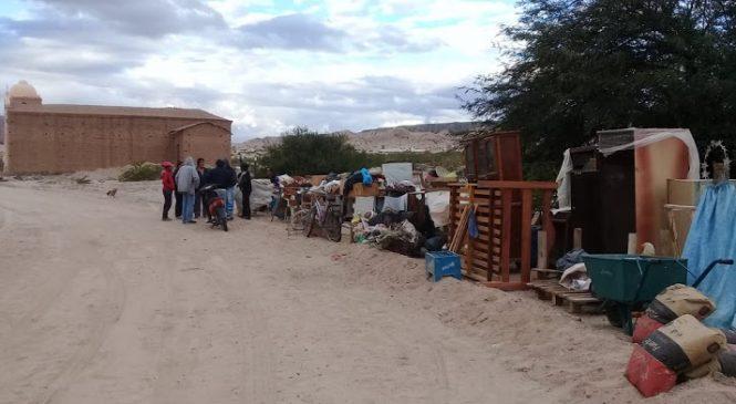 Frustrado desalojo en Comunidad Diaguita Kallchaki Pucara Angastaco