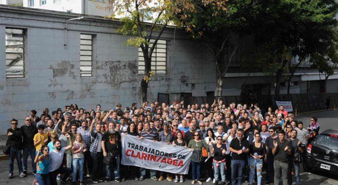 Continúa el paro por los despidos en Clarín/AGEA