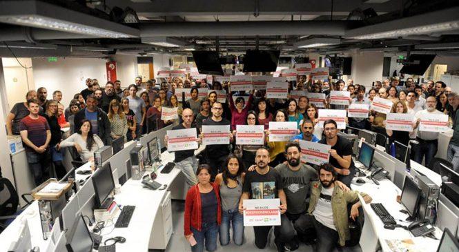 Cuatro primeras reincorporaciones gracias a la lucha en Clarín