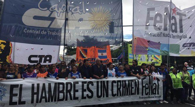 La FeNaT repudia y denuncia la represión de ayer en el Ministerio de Desarrollo