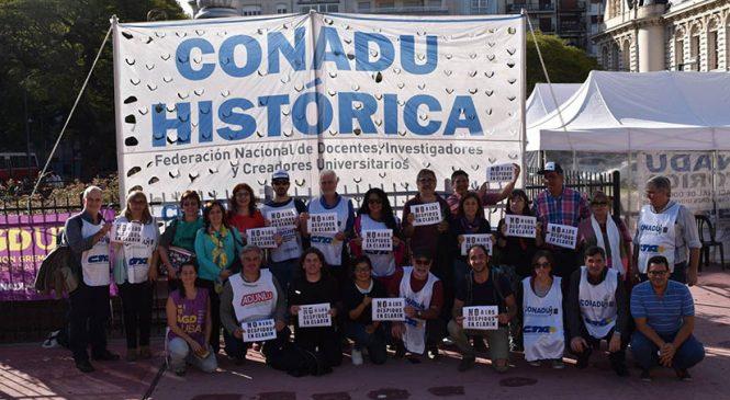 Alto acatamiento al paro universitario de 48 horas convocado por Conadu Histórica