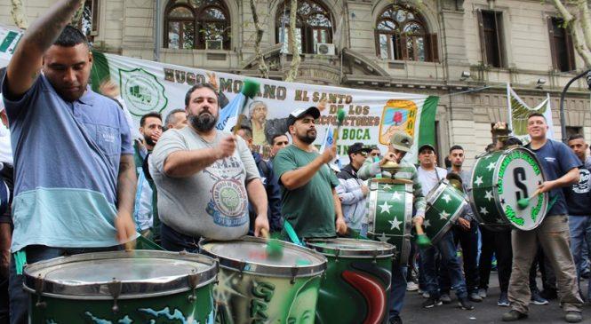 Moyano inaugura el año con protesta callejera