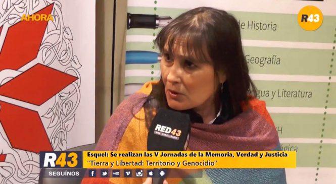 La APDH se solidarizó con Sonia Ivanoff, abogada de Facundo Jones Huala