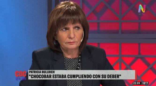 Declaraciones de Patricia Bullrich: Adonde vayan, los iremos a buscar