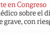 """El diputado Olivares, """"con riesgo de vida"""""""