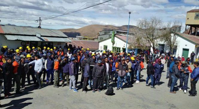 Mineros de El Aguilar van a la huelga por condiciones laborales
