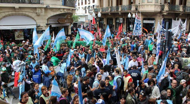 Rosario fue nuevamente la capital nacional del paro