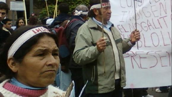 """""""El territorio ha sido, es y va a ser de nuestros pueblos"""""""