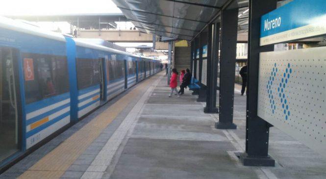 Ferroviarios en lucha contra el cierre de la boletería en Moreno