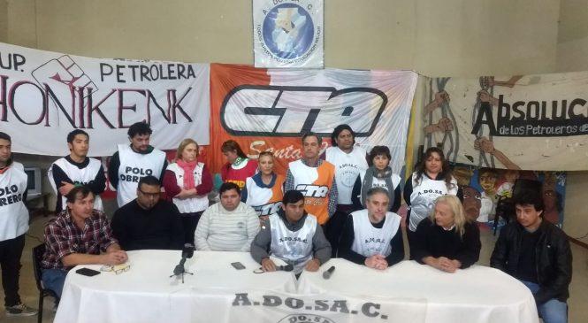 Un triunfo contra la criminalización: absolvieron a petroleros de Las Heras