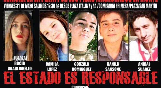 Viernes 31/5: Marcha en La Plata por los pibes masacrados en San Miguel del Monte