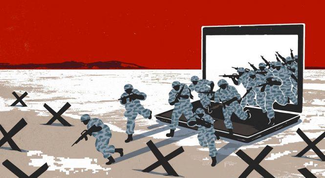 Ciberguerra declarada, con espionaje, hackeo global, control y persecuciones en la era Trump