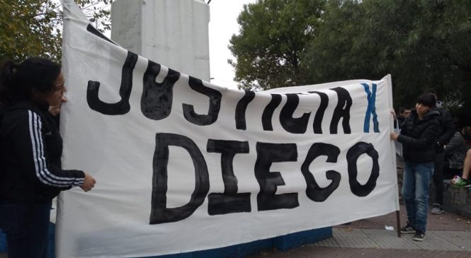 Diego Cagliero fue asesinado por la policía bonaerense