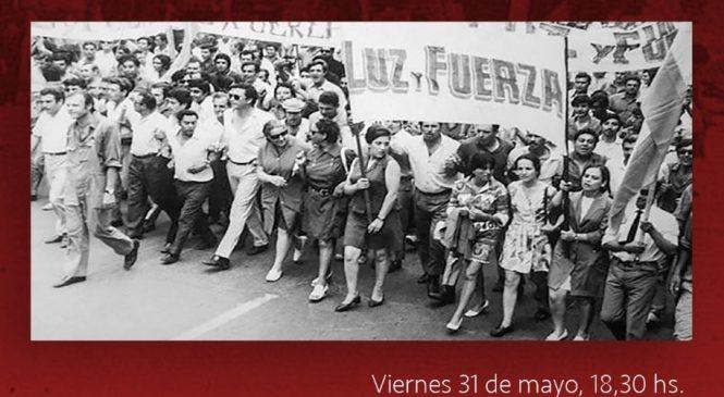 Charla debate a 50 años del Cordobazo