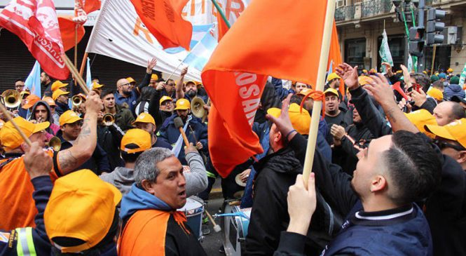 La clase obrera en el centro de la escena política