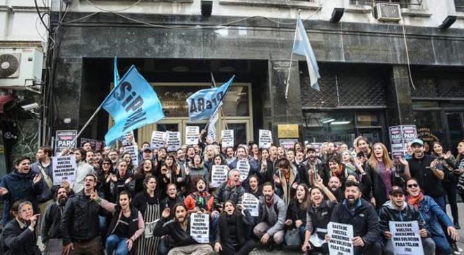 La Cámara rechazó una nueva maniobra del gobierno ante la movilización de los trabajadores de Télam