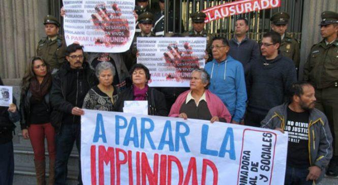 Chile: Organizaciones realizan campaña contra la Impunidad