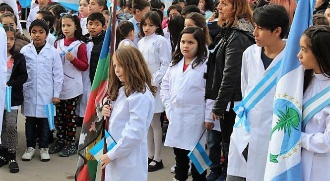 ¿Bandera mapuche o bandera argentina?