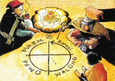 Trabajan en la promoción y reglamentación del idioma Mapuche en Bariloche