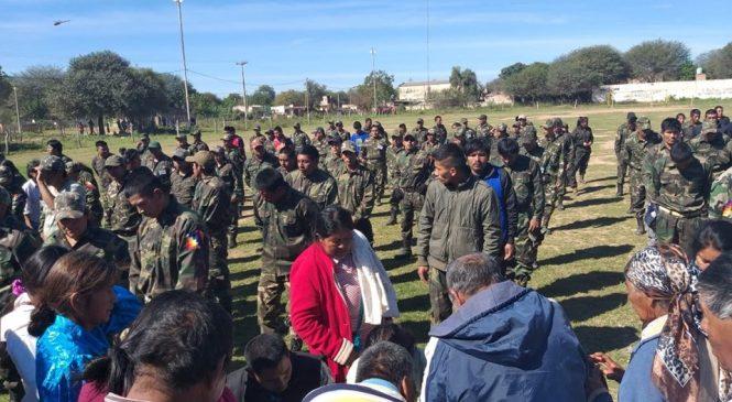Chaco: Se inauguró localmente la Guardia Comunitaria en El Sauzalito