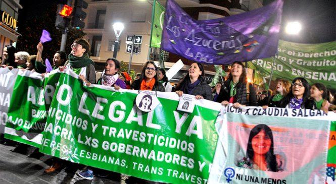 #3J: La Plata gritó #NiUnaMenos