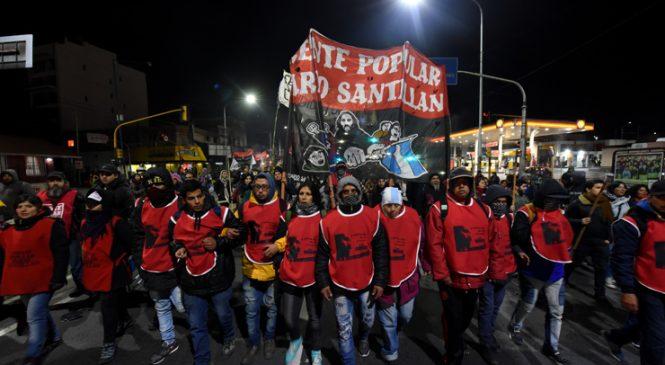 Marcha de Antorchas al Puente Pueyrredón
