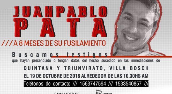 ¡Justicia por Juan Pablo Pata!