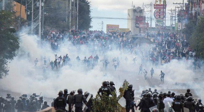 Revuelta popular en Honduras: Los protagonistas