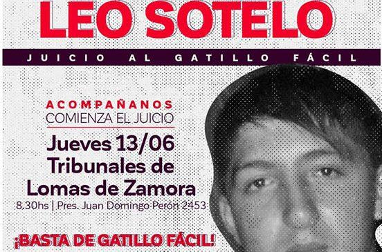 Justicia por Leo Sotelo