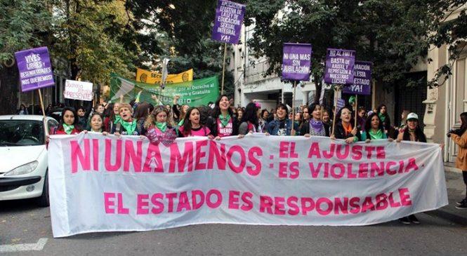 Decenas de miles gritaron #NiUnaMenos en Rosario