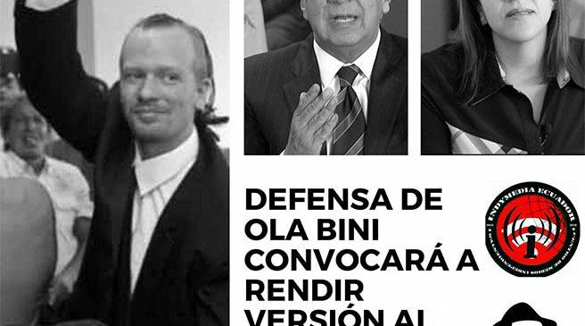 Ecuador: Defensa de Ola Bini convocará a rendir versión al presidente Lenin Moreno