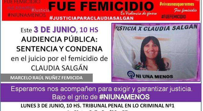 El femicidio de Claudia Salgán: una agonía que continúa