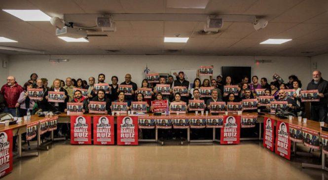 Delegación internacional de juristas exigió la libertad de Daniel Ruiz
