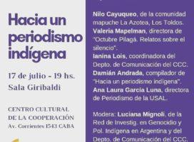 Presentación del libro: Hacia un periodismo indígena