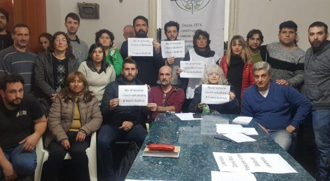 """El Encuentro Memoria, Verdad y Justicia repudia el """"servicio cívico voluntario"""" de la ministra Bullrich"""
