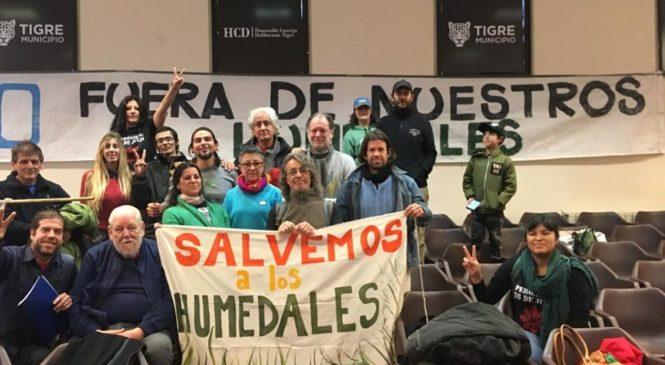 """Exigimos urgente aprobación de la ordenanza """"Planicie del Río Luján"""""""