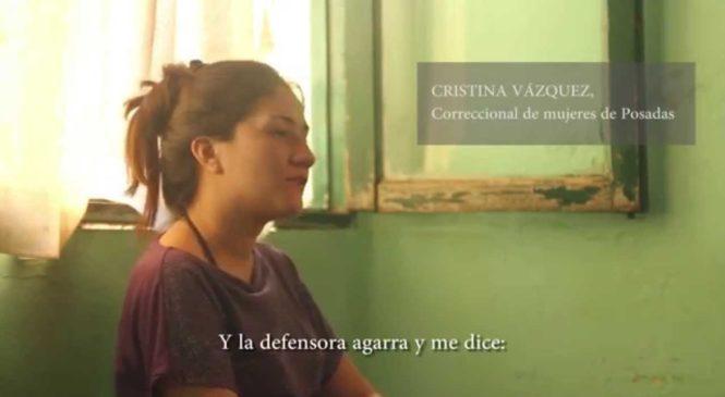 Cristina Vázquez: presa e inocente