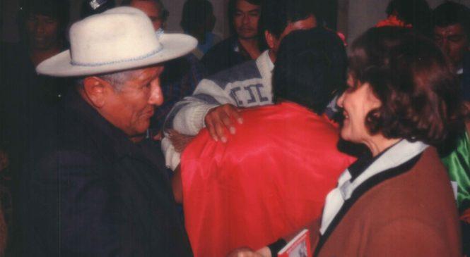 """Elva Roulet: """"El trabajo Indígena fue muy positivo y estimulante"""""""